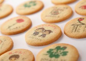 浜松秋芳堂のオリジナルプリントクッキー